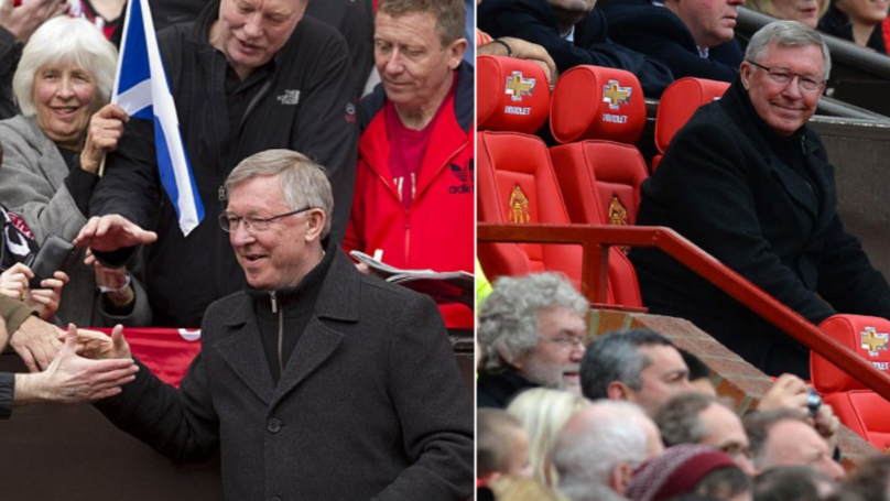 What Sir Alex Ferguson Did For Club's Oldest Season Ticket Holder Is Incredible