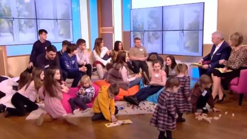 Couple With Britain's Largest Family Welcome Their 21st Child