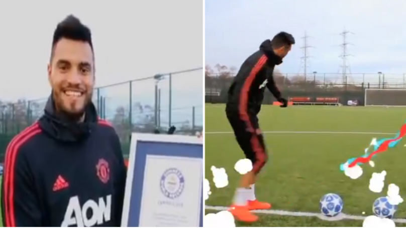 Manchester United Goalkeeper Sergio Romero Is Now A Guinness World Record Holder