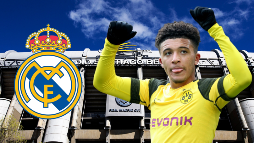 Borussia Dortmund To Demand €180m From Real Madrid For Jadon Sancho