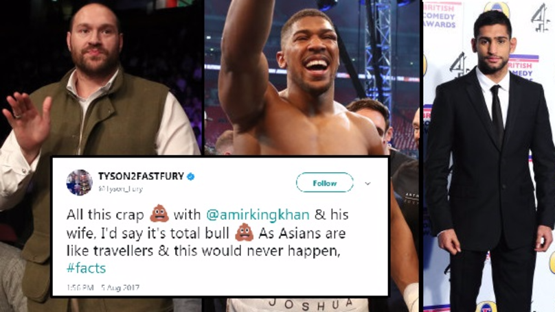 Tyson Fury Weighs In On The Amir Khan And Anthony Johnson Situation