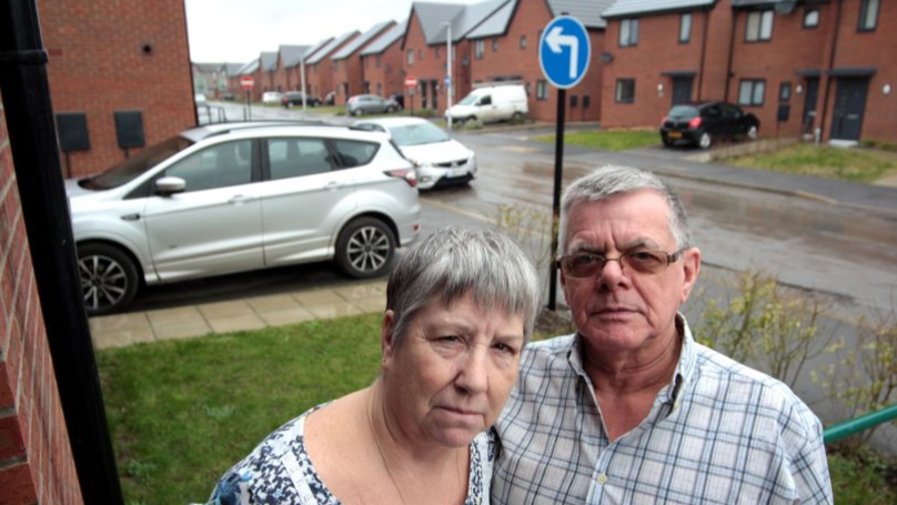 Couple Fuming About Road Sign That Sends Drivers 'Straight Into Their Front Room'