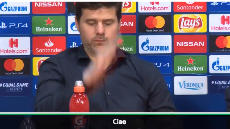 Mauricio Pochettino Walked Out Of Press Conference After Harry Kane Question