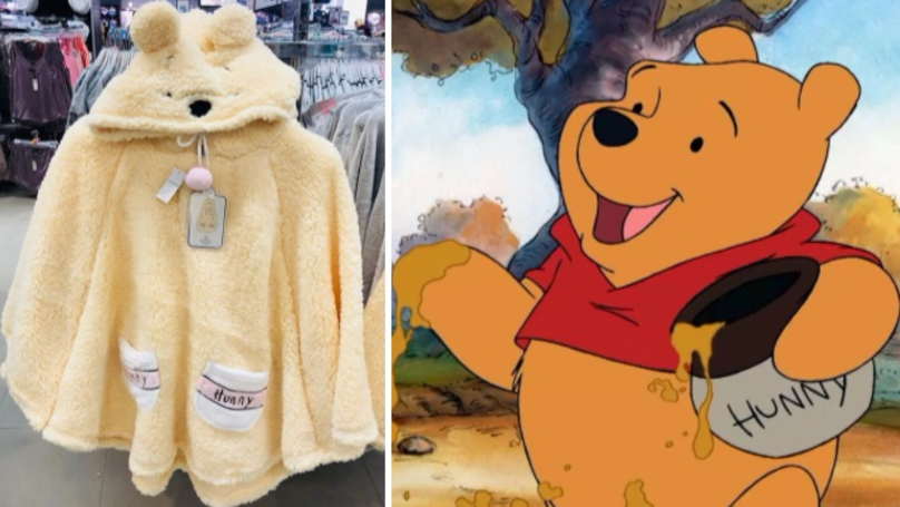 Honey, You Need This Cosy Winnie The Pooh Cape From Primark