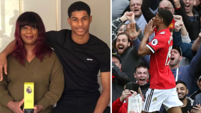 Marcus Rashford's Mum Receives 'Man Of The Match' Present For Mothers Day