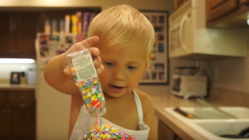 Two-Year-Old Creates His Own Cooking Show And It's Amazing
