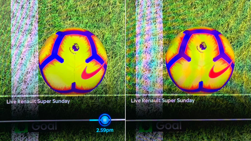 Goal Line Technology Produces Two Different Pictures From Aubameyang's Goal