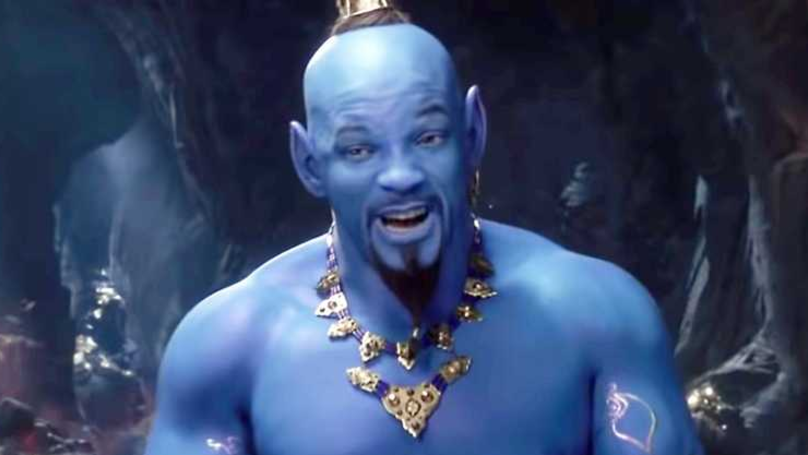 Will Smith Makes His Debut As Genie In New 'Aladdin' Trailer