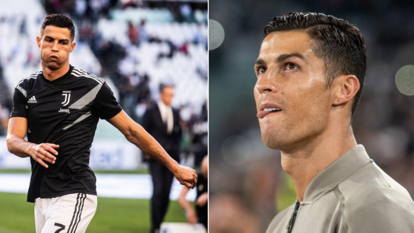 "Real Madrid Fans Chant ""Ronaldo, Ronaldo, Ronaldo"" During 0-0 At Bernabeu"