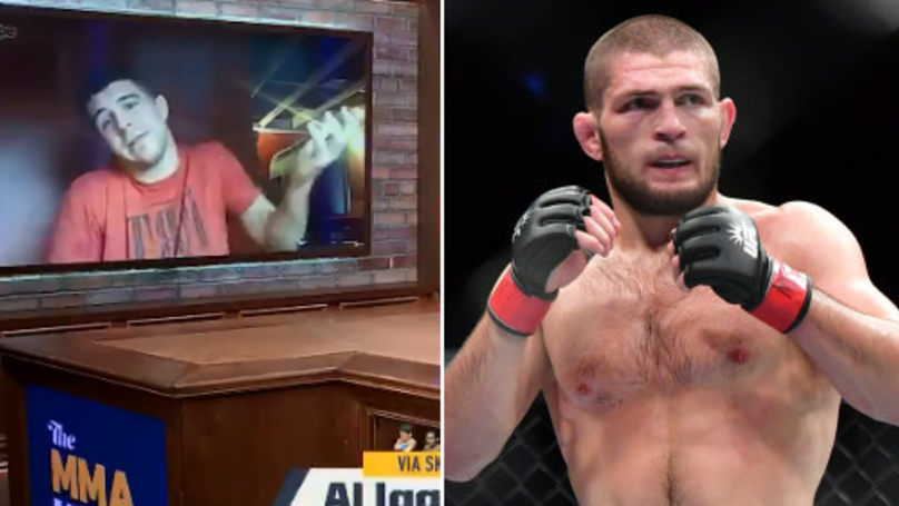 What Al Laquinta Said About Fighting Khabib In January Is Bloody Brilliant