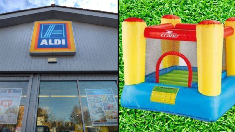 ​Aldi Is Selling A 6ft Inflatable Bouncy Castle For Just £70