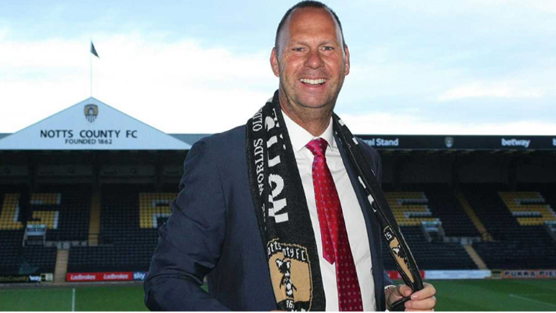Notts County Chairman Uploads Tweet, X-Rated Image On Camera Roll Appears
