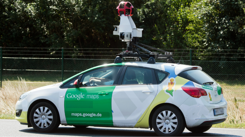 Google Street View Car Appears To Run Over A Hare