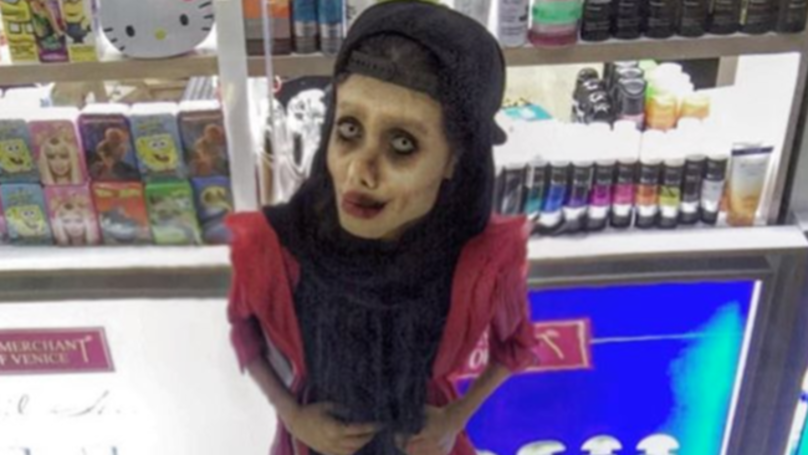 Photos Emerge Of Wannabe Angelina Jolie Lookalike Before Transformation