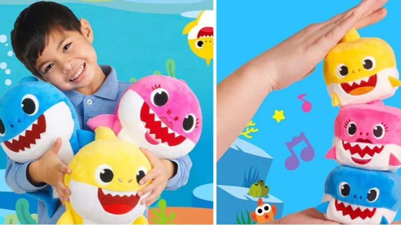 'Baby Shark' Toys Are Going On Sale Just In Time For Christmas