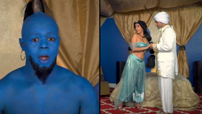 An Aladdin Porn Parody Has Been Released And It's Called Allad**k