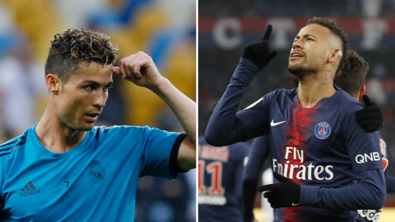 Cristiano Ronaldo Wasn't Happy At The Idea Neymar Might Join Real Madrid