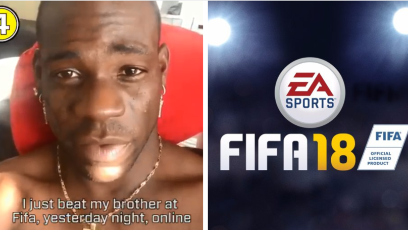 Mario Balotelli Brilliantly Trolls Brother Over FIFA Win With Friends Help