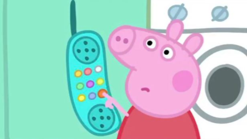 P Ed Off Peppa Pig Hanging Up Her Phone Has Become A Meme