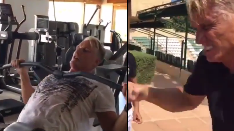 Dolph Lundgren Shows How He's Preparing To Become Ivan Drago Again