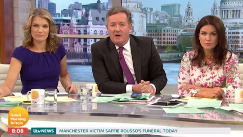 Piers Morgan Slams Guest Who 'Did A Runner', Calling Her A Coward