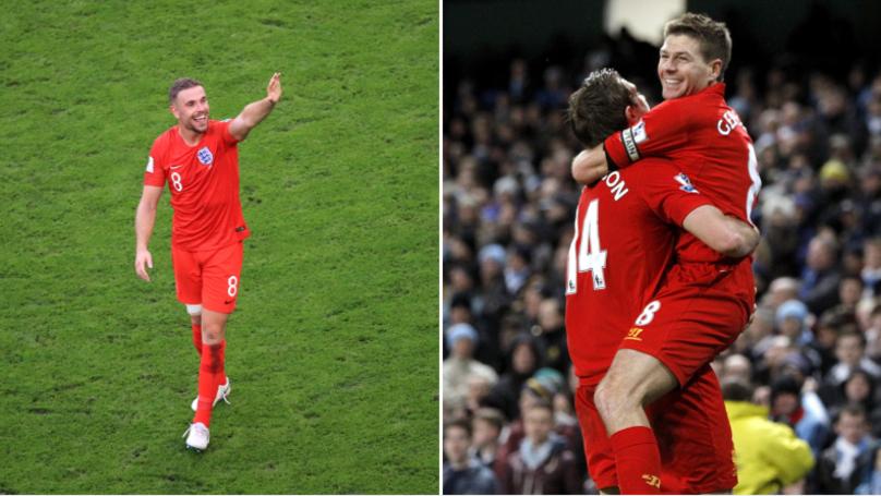 Steven Gerrard Reveals What He Said To Jordan Henderson After Croatia Loss