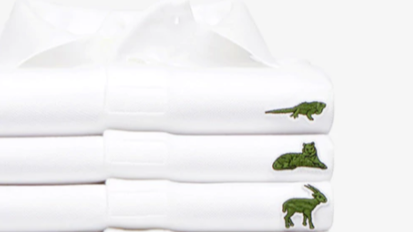c28b28e7e Lacoste Releases New Range Of Polo Shirts To Help Endangered Species