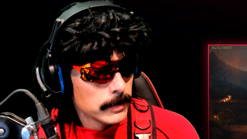 ​Dr DisRespect Forced To End Stream After Bullet Flies Through His Window