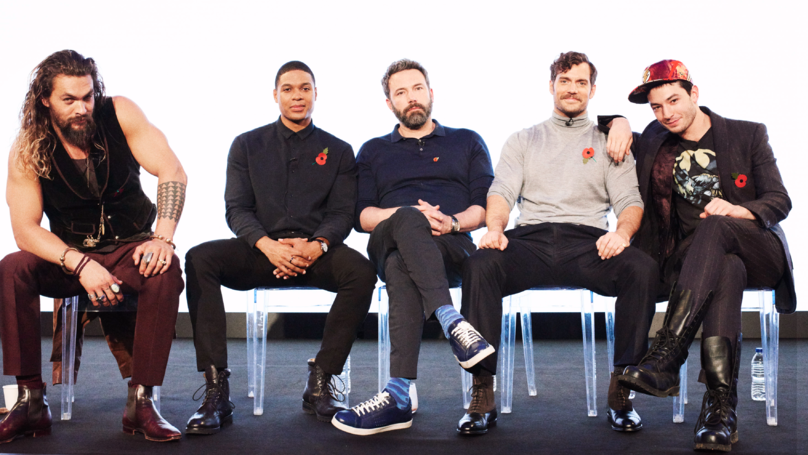 ​Justice League Superheroes Talk Weird Britain, Bulking Up And The Batmobile