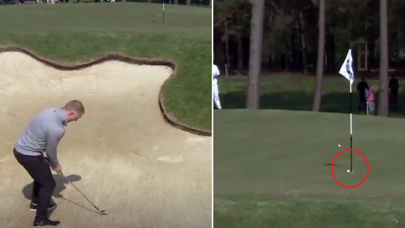 Watch: Paul Scholes Pulls Off Ridiculous Chip From The Bunker