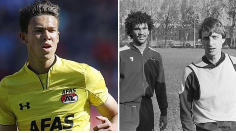 Maxim Gullit, Son Of Dutch Legend Ruud, Makes Debut 40 Years On From His Dad