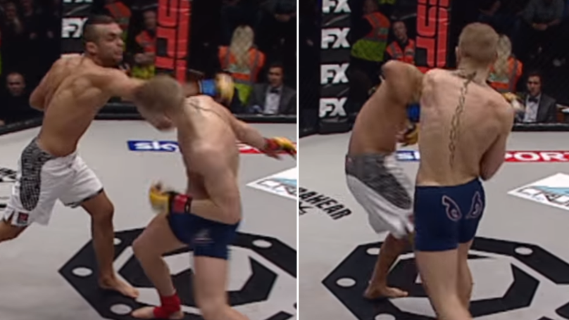 Conor McGregor's Last Fight Before UFC Debut Ended With A Brutal Knockout