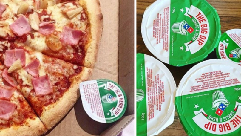 People Are Shocked At The Amount Of Calories In Domino's Garlic And Herb Dip