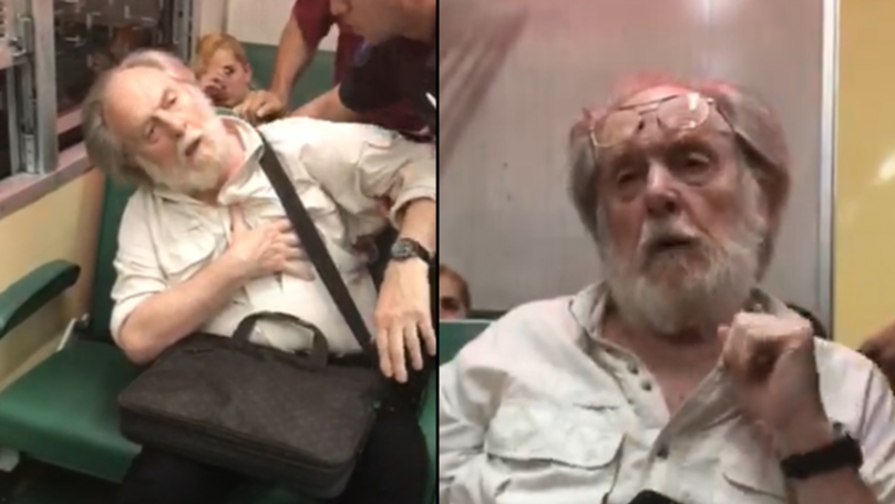 Man Fakes Heart Attack When Police Try To Kick Him Off A Train