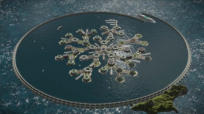 Paypal Founder Peter Thiel Funding World's First Floating City