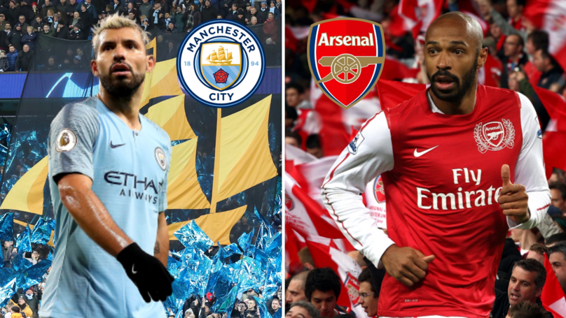 Sergio Agüero Has Scored The Same Number Of Goals For City As Henry Did For Arsenal