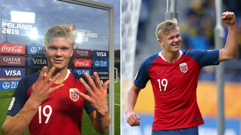Erling Braut Håland Scores 'Hat-Trick Of Hat-Tricks' In 12-0 Win