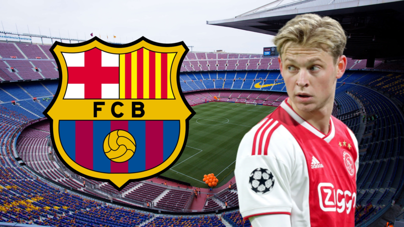 Barcelona Set To Sign Ajax Star Frenkie De Jong In The 'Next 48 Hours'