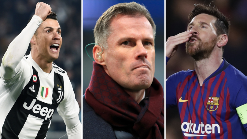 Jamie Carragher Believes Lionel Messi Is The 'Greater Player Of All Time,' Not Cristiano Ronaldo
