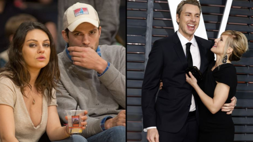 Ashton Kutcher And Mila Kunis Troll Dax Shepard And Kristen Bell With Incredible Christmas Gift