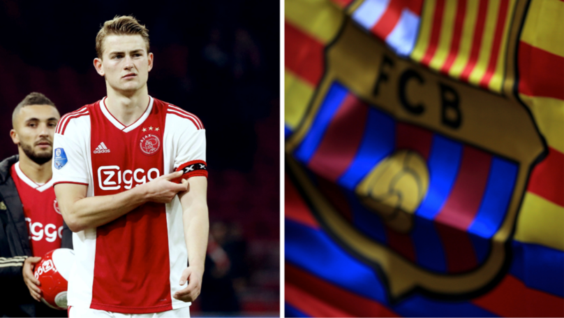 Barcelona To Offer €60m For Matthijs De Ligt, Deal Could Be Done 'Within A Month'
