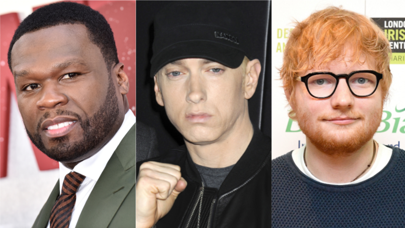 ​​50 Cent Announces Collab With Eminem And Ed Sheeran