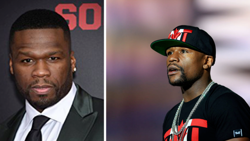 "Floyd Mayweather Claims 50 Cent's Rap Career Has ""Ended"" In Social Media Rant"