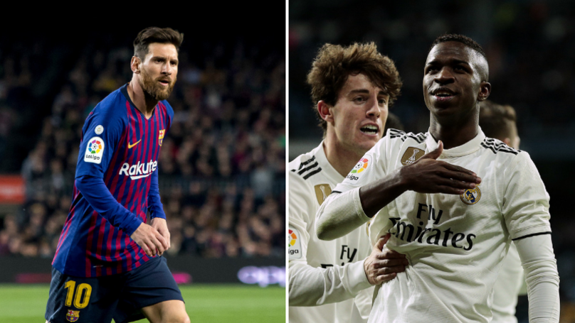 Jordi Alba Had The Perfect Response To Comparisons Between Vinicius Junior And Lionel Messi