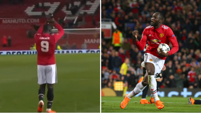 Manchester United Fans Can't Get Enough Of Lukaku's Response To Brighton Win