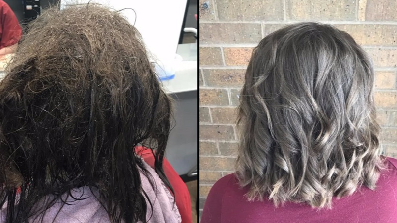 Hairdresser's Post Goes Viral After Helping Teen Suffering With Severe Depression