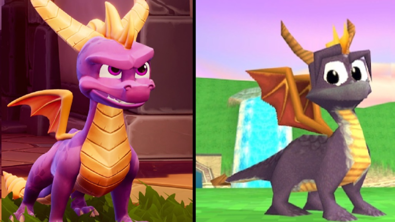 Watch The New Trailer For The Remastered 'Spyro The Dragon' Game