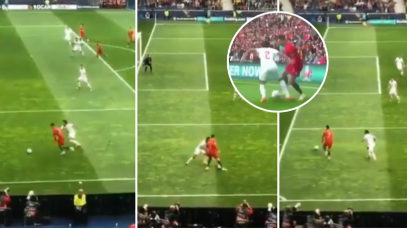 Cristiano Ronaldo Rolled Back The Years With Insane Skill To Destroy Swiss Defender