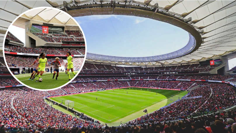 A World Record 60,739 Fans Watched Women's Game Between Barcelona And Atletico Madrid
