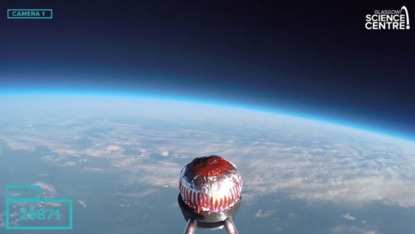 Teacake Sent Into Space For A Very Important Reason